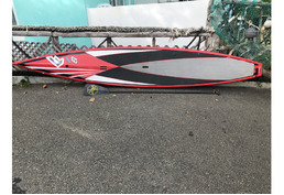 Fully Carbon fiber race board and paddle