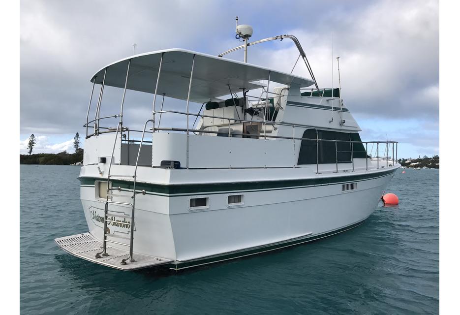 47 Atlantic Motor Vessel: REDUCED: Atlantic 44 Motor Yacht