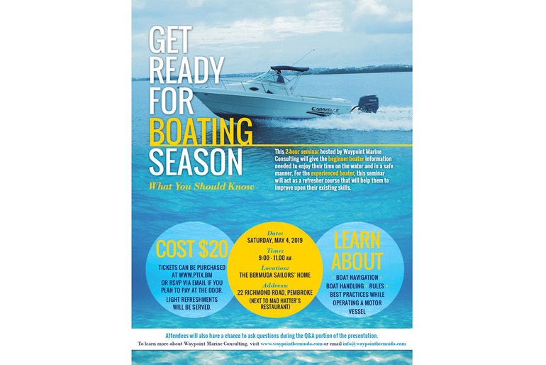 Get Ready for The Boating Season Seminar