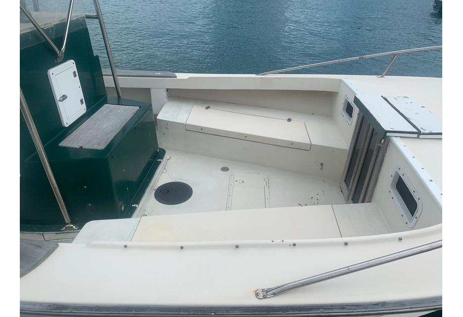 SOLD - Seaway 28 Center Console Cuddy Diesel