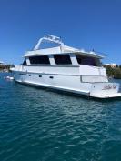 Reduced - Chris Craft Roamer 75' Motor Yacht with Storm Mooring