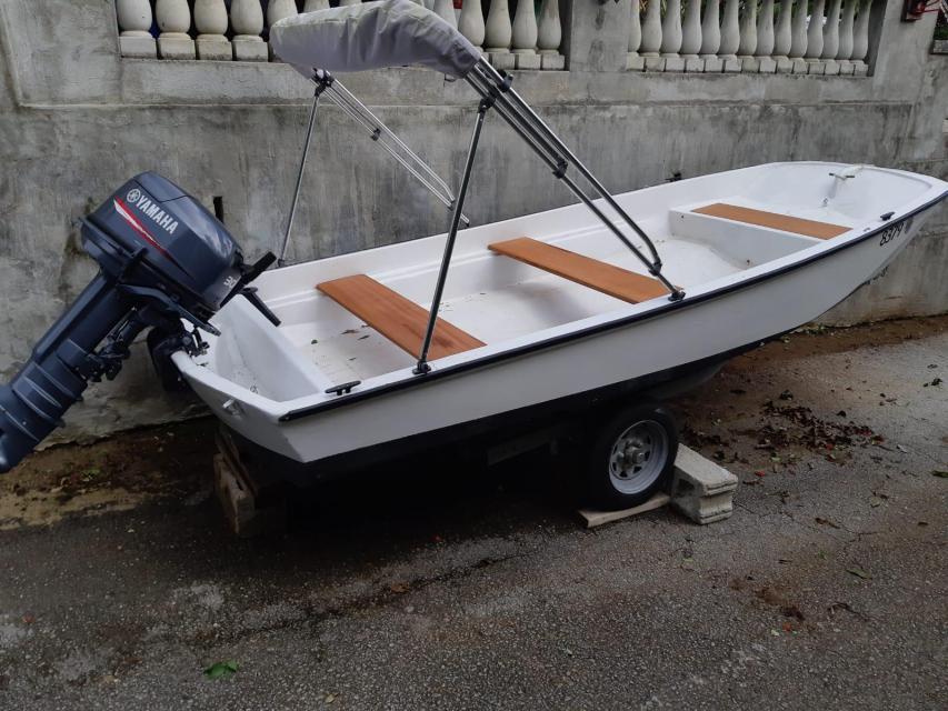 Boston Whaler New Motor
