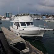 SOLD - Mainship 39 Diesel Project Boat
