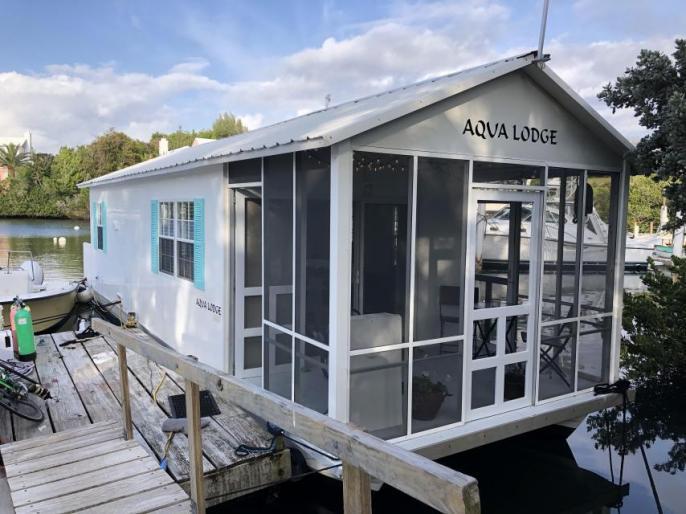 SOLD -  Aqua Lodge Floating Cottage