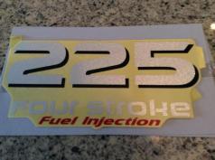 F225 OEM decals