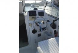 SOLD - 22ft Century Walkaround with Four Stroke Yamaha Power