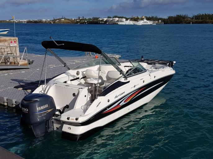 24ft Hurricane Deck Boat