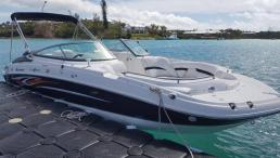 24ft Hurricane Deck Boat