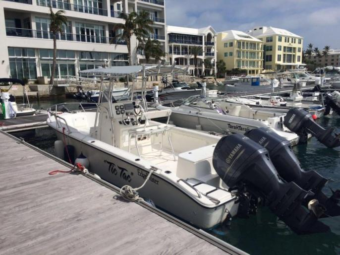 24ft Edgewater Center Console For Sale