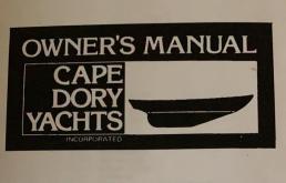 SOLD - 25' Cape Dory Sailboat