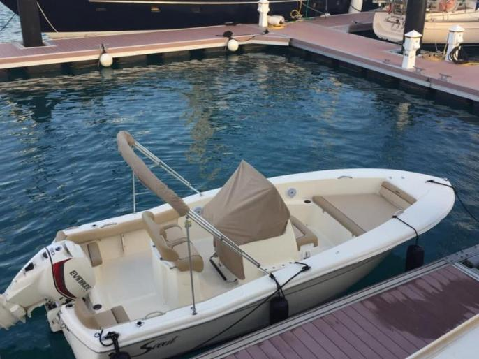 "SOLD - 20' Scout CC ""Unwined"""