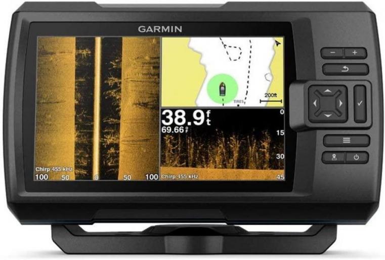 Garmin Striker 7' fish finder with transducer