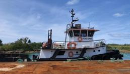 SOLD - 81' Steel Trawler Tug
