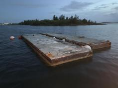 SOLD - Concrete Floating Docks