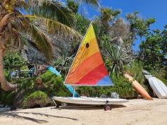 SOLD - Sunfish sailboat and trailer