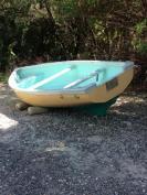 SOLD - Fiberglass Bermuda dinghy