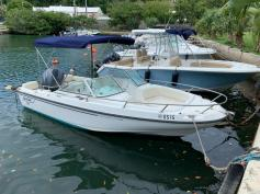 SOLD - 20ft Boston Whaler Ventura 225hp Yamaha Four-Stroke