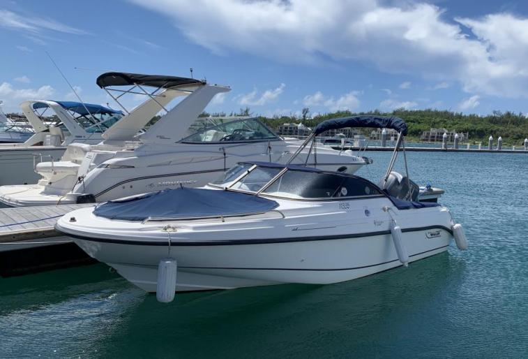 UNDER OFFER - 18ft Boston Whaler Ventura 150hp Yamaha Four-Stroke