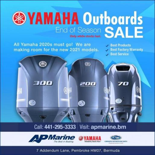 YAMAHA Outboards End of Season Sale