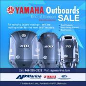 YAMAHA Outboards End of Season Sale