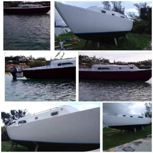 28ft 1968 Irvin sail boat