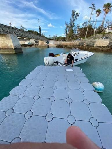 Floating Modular Dock (CanDock) - New Feb 2020 $6,250 (negotiable, must sell)