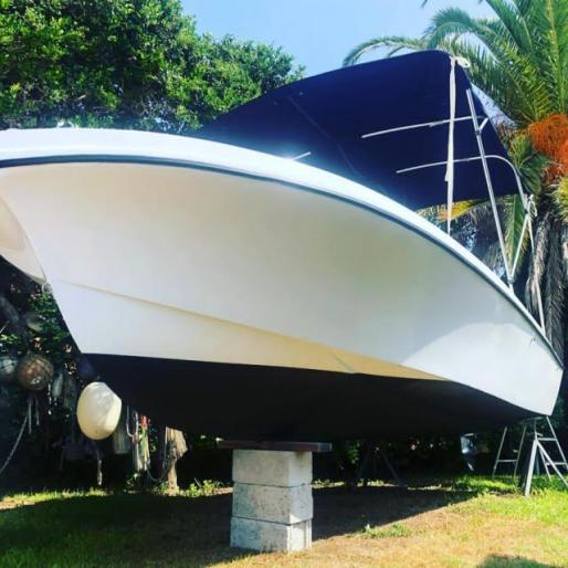 Newly refurbished 19ft mako with yamaha 115 4 stroke
