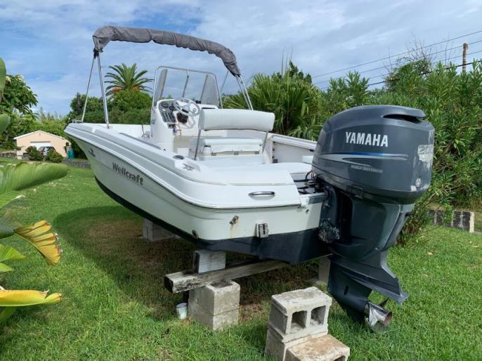 20ft Wellcraft Sport Fisherman CC w/ 200hp Yamaha Four-Stroke