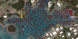 Riddells Bay mooring for rent 23ft
