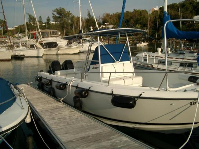 30' Center Console Hull only for sale