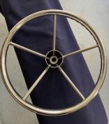 Stainless Steel Steering Wheel with Grips