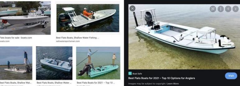 ISO - Small Flats Fishing Boat/Skiff